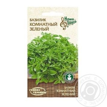 Семена Семена Украины Базилик комнатный зеленый 0,25г