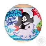 Бомбочки для ванны Ocean Friends с сюрприз-игрушкой внутри 140г