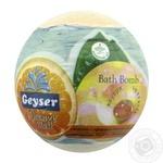 Geyser Оrange Blast Geyser Bath Bomb with Orange Essential Oil Capsule 140g