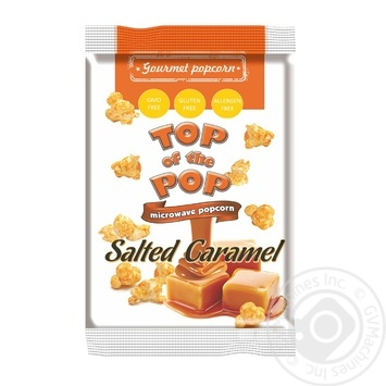 Top of Pop With Salty-Caramel Taste Popcorn 100g - buy, prices for Novus - image 1