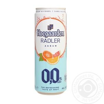Hoegaardeen Radler Agrum Light Non-Alcoholic Beer 0,33l