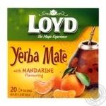 Чай травяной Loyd мате с ароматом мандарина 1,7г*20шт