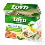Loyd Herbal Tea with Lemon and Honey Aroma 1,5g*20pcs