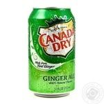 Beverage Canada dry ginger non-alcoholic 330ml can