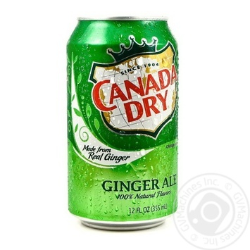 Beverage Canada dry ginger non-alcoholic 330ml can - buy, prices for Auchan - image 1