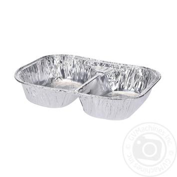 Тарілка для приготування їжі на грилі, 2 ячейки.Розміри: 35*26,5*6см Koopman - купить, цены на Novus - фото 1