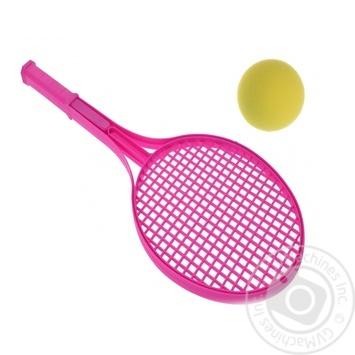 Набор для игры в теннис Koopman ракетки 54см + мячик 7см