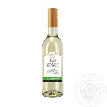 Вино Brise de France Chardonnay белое сухое 12,5% 0,25л