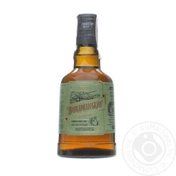 Calvados Precarpathian Рear Brandy 40% 0.5l - buy, prices for Novus - image 1