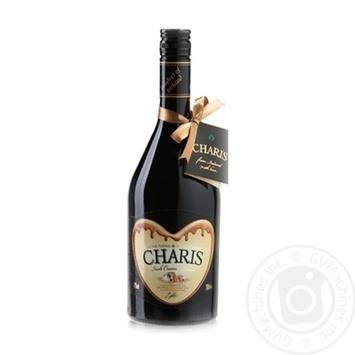 Ликер Charis Irish Cream liqeur 17% 0,7л - купить, цены на Novus - фото 1