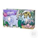 Платочки Bella Baby Happy бумажные двухслойные универсальные 100шт