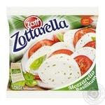 Сир Zott Zottarella Моцарелла з базиліком 45% 125г - купити, ціни на Novus - фото 1