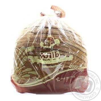Хліб Цар Хліб Український нарізний в упаковці 0,95кг - купити, ціни на Novus - фото 1