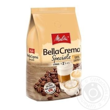 Кава БеллаКрема Спеціале натуральна смажена в зернах Мелітта 1000г - купити, ціни на Novus - фото 1