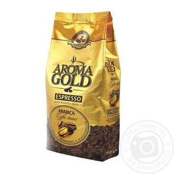Кава в зернах Espresso Aroma gold 250г