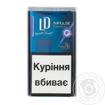 Сигарети LD Impulse compact Purple - купить, цены на Фуршет - фото 2