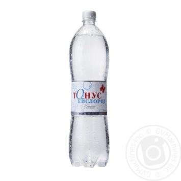 Вода Куяльник Тонус Кислород негазированная 1,5л
