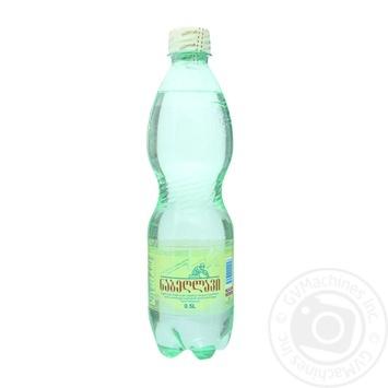 Вода Набэглави сильногазированная лечебно-столовая пластиковая бутылка 500мл Грузия - купить, цены на Novus - фото 1