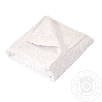 Рушник махровий Гранд Мета 70*140 білий 400гр/кв.м - купить, цены на Novus - фото 1
