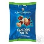 Драже Millenium Golden Nuts  Мигдаль у молочному шоколаді 100г