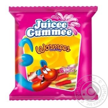Конфеты желейные Juicee Gummee Червячки 80г - купить, цены на Novus - фото 1