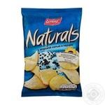 Чіпси Лоренц Нетчерелс картопляні з морською сіллю і перцем 110г Німеччина - купити, ціни на Novus - фото 1
