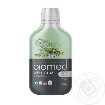 Ополаскиватель Biomed Well Gum комплексный для ротовой полости 0,5л