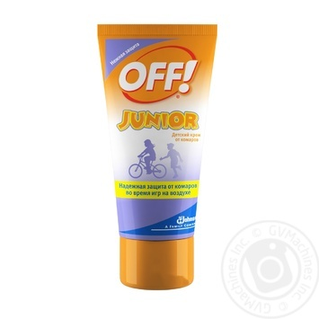 OFF! Junior Exstreme Against Mosqouitoes Cream 50ml - buy, prices for Tavria V - image 1