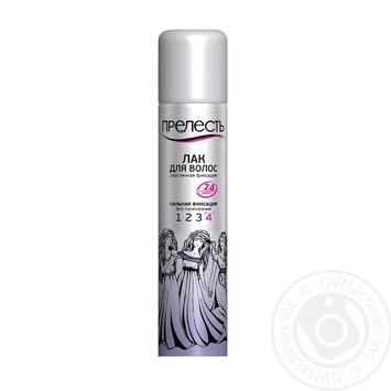 Лак для волос Прелесть Сильная фиксация 200мл - купить, цены на Восторг - фото 1