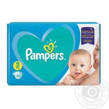Підгузки Pampers New Baby Mini 4-8кг 43шт - купити, ціни на Novus - фото 1