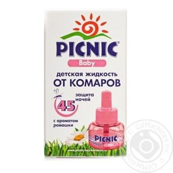 Средство Picnic Baby жидкость от комаров 30мл 45 ночей