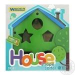 Іграшка-сортер Wader Будиночок розвиваючий - купити, ціни на CітіМаркет - фото 1