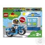 Конструктор Lego duplo Поліцейський мотоцикл 10900