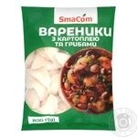 SmaCom Frozen Dumplings with Potatoes and Mushrooms 800g