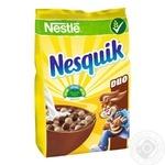 Готовый сухой завтрак Nesquik Duo с витаминами и минералами 460г - купить, цены на Novus - фото 1