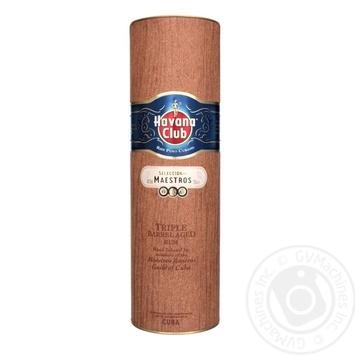 Ром Havana Club Seleccion de Maestros 45% 0,7л в коробке - купить, цены на СитиМаркет - фото 1