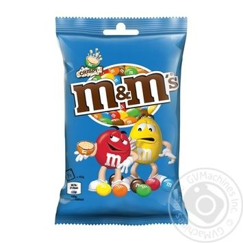 M&M's dragee with rice balls in milk chocolate 77g - buy, prices for MegaMarket - image 1