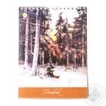 Tetrada Sketchbook for Artistic Works on Spiral 15x20cm 48 sheets