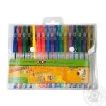 Набір ручок ZiBi Standard гелевих 18шт