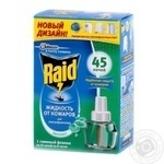 Raid With Eucalyptus For Fumigants Liquid Mosquito Repellent 45 Nights 32.9мл