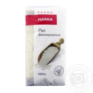 Groats rice Marka promo long grain 1000g - buy, prices for Novus - image 1