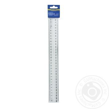 Лінійка пластикова з тримачем в блістері 30см - купити, ціни на Novus - фото 1