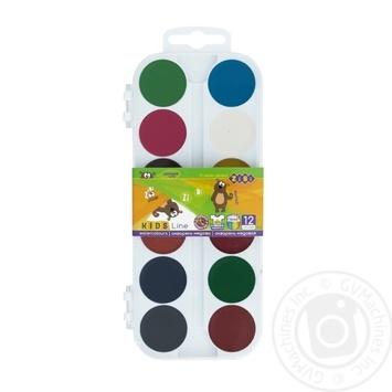 ZiBi Watercolor Paints 12 Colors - buy, prices for CityMarket - photo 5