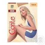 Колготи женские Solo Conte 20 розмiр 4 natural - купить, цены на Novus - фото 1
