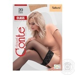 Stockings Conte natural for women 20den 1-2size - buy, prices for Novus - image 1