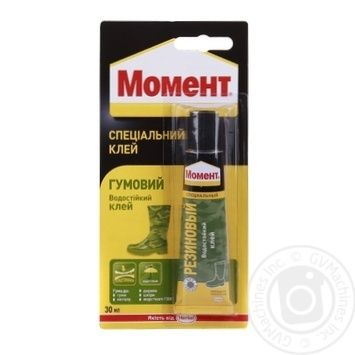 Moment Rubber Glue 30ml - buy, prices for Auchan - photo 1