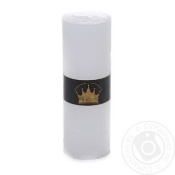 Pragnis Candle Rustic Cylinder white - buy, prices for Novus - image 1