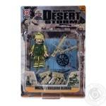 Набор игрушечный Space Baby фигурка-конструктор с аксессуарами серии Desert Storm2 в ассортименте