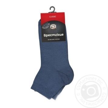 Шкарпетки чоловічі Брестские Classic скорочені размер 29 - купити, ціни на Novus - фото 1