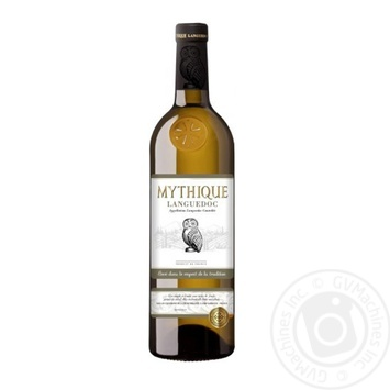 Вино Mythique White Languedoc белое сухое 12.5% 0,75л